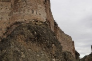 Fortress above Tbilisi built by the Persians in the 4th century